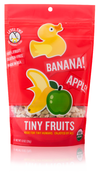 Tiny Fruits - Apple Banana