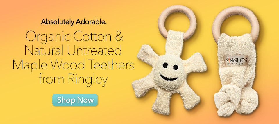 Ringley Organic Cotton Teethers