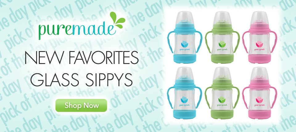 Hot Item iPlay Glass Straw 'n Sippy