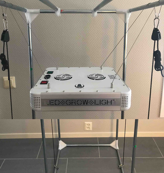 Setup LED grow light distance