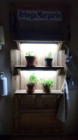 Garage or closet grow room set up