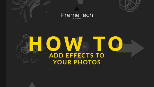 How To Add Effects (like Snapchat) to Your Photos