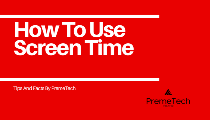 How to use Screen Time