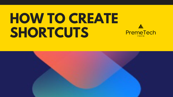 How to Create Shortcuts on your iphone