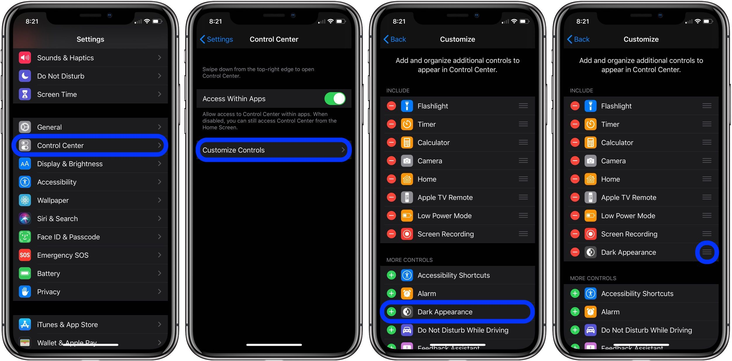 How to Turn On Dark Mode in iOS 13