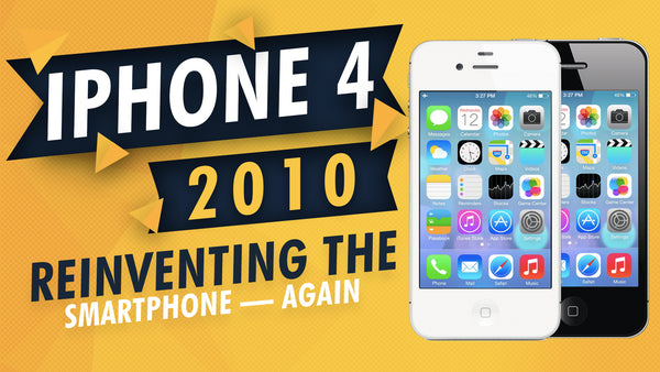iPhone 4 2010: Reinventing the Smartphone — Again