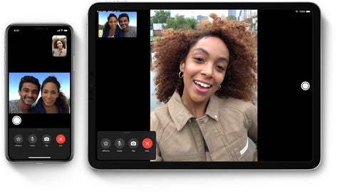 How to group facetime