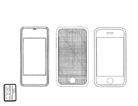first sketch of the iPhone