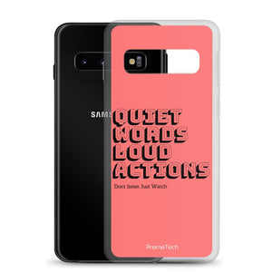 Actions Samsung Case