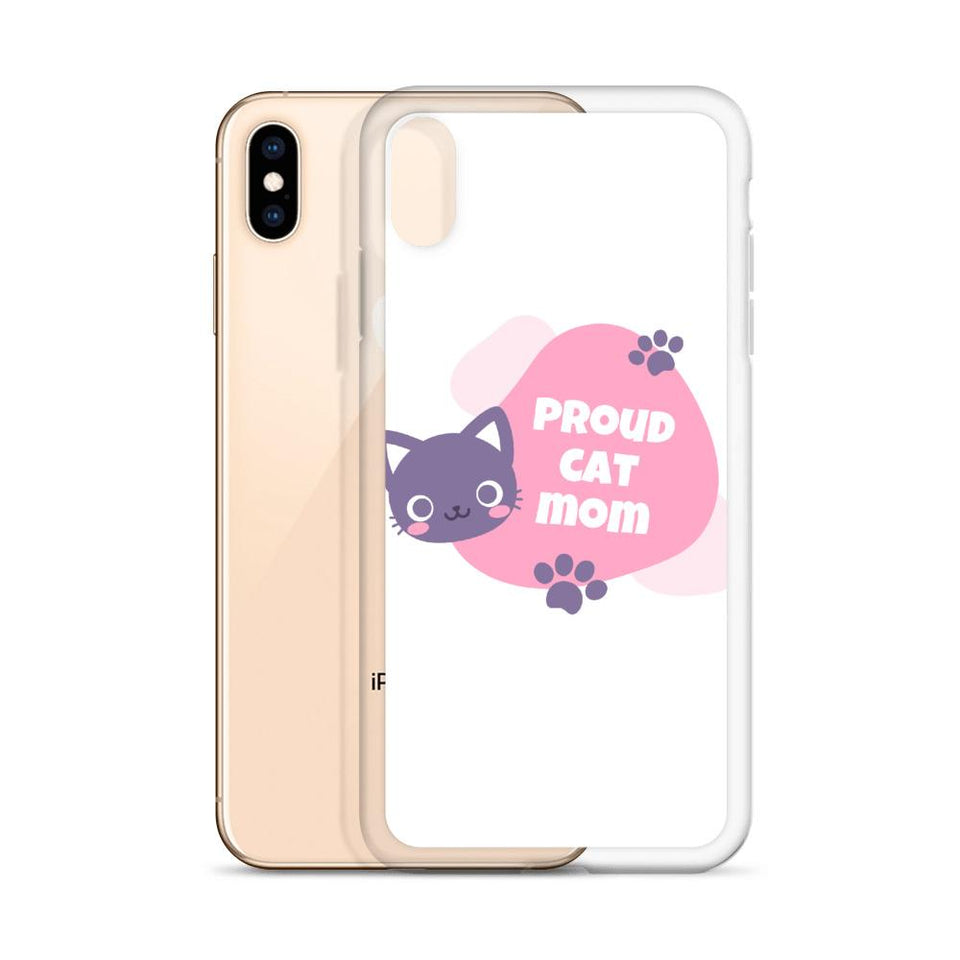 Cat Mom iPhone Case