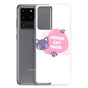 Cat Mom Samsung Case