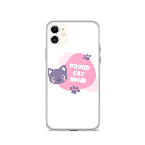 iPhone 11 Cat Mom iPhone Case