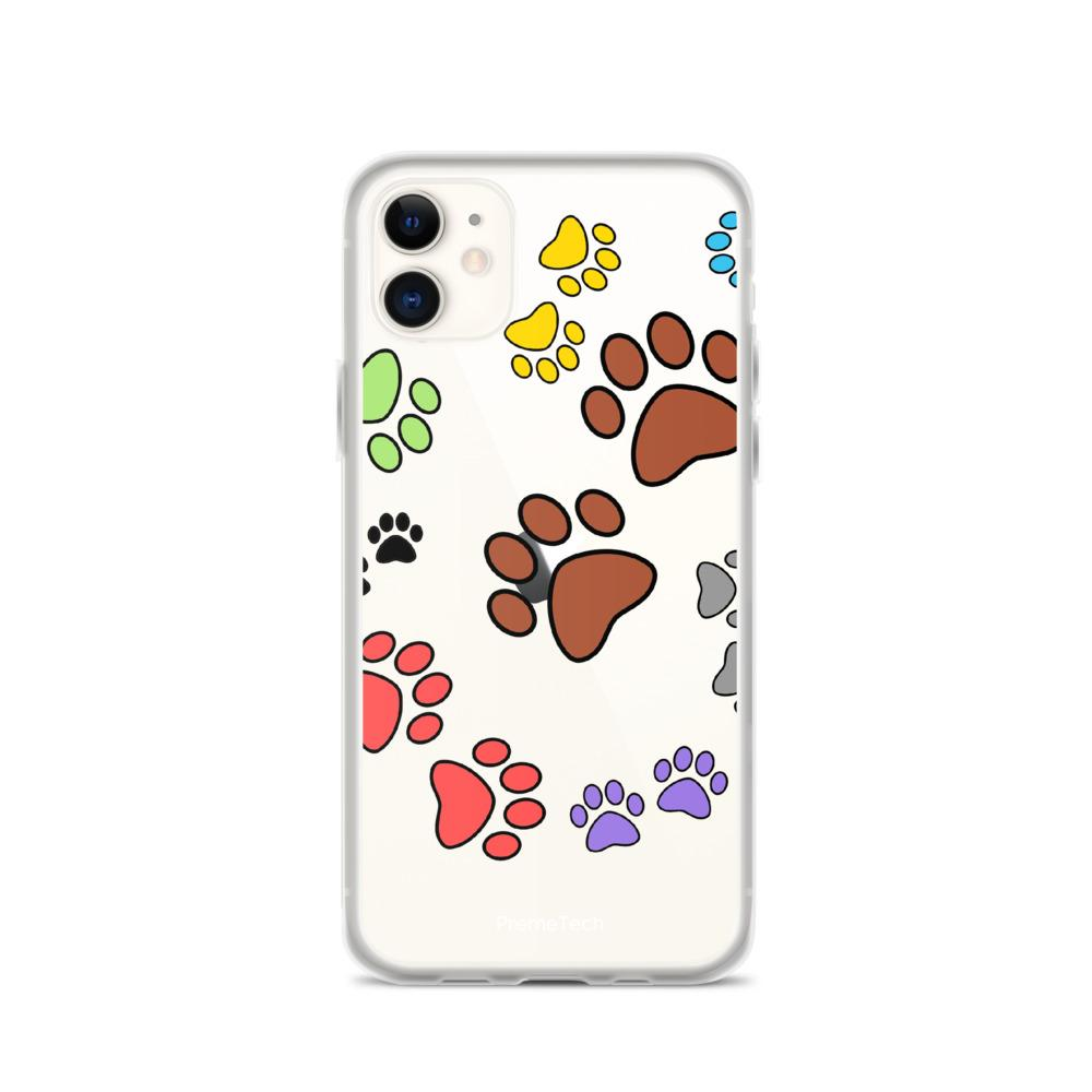 iPhone 11 Paw Print iPhone Case