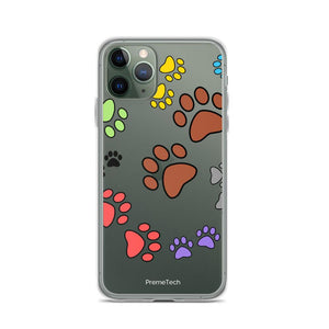 iPhone 11 Pro Paw Print iPhone Case