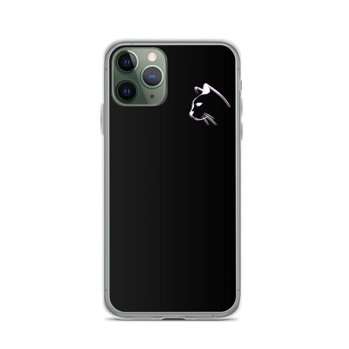 iPhone 11 Pro Stenciled Kitten iPhone Case