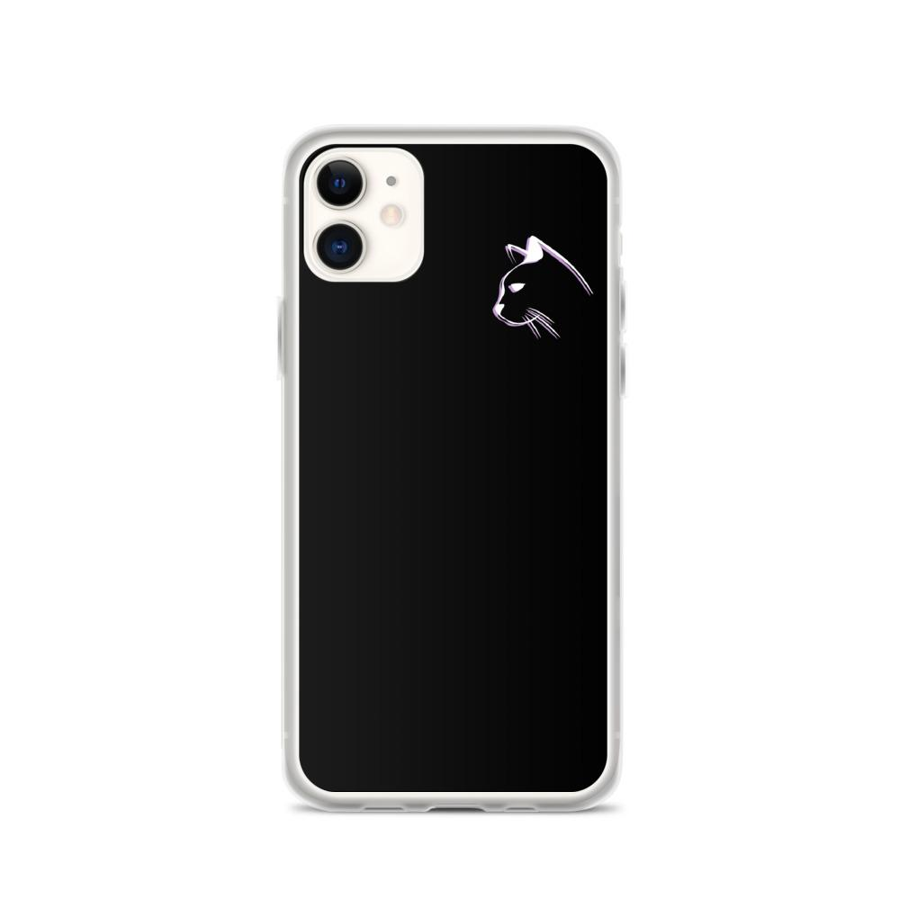 iPhone 11 Stenciled Kitten iPhone Case
