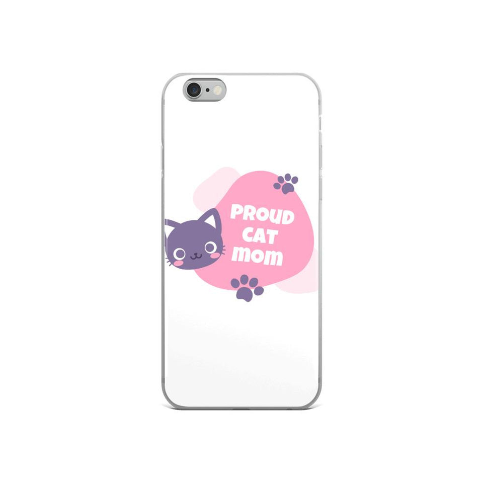 iPhone 6/6s Cat Mom iPhone Case