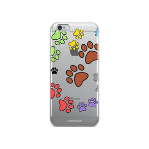 iPhone 6/6s Paw Print iPhone Case