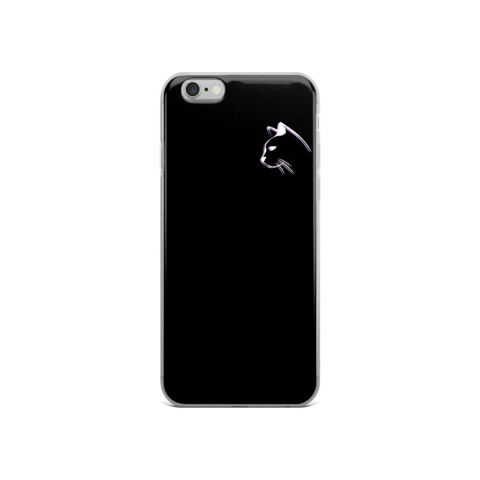 iPhone 6/6s Stenciled Kitten iPhone Case