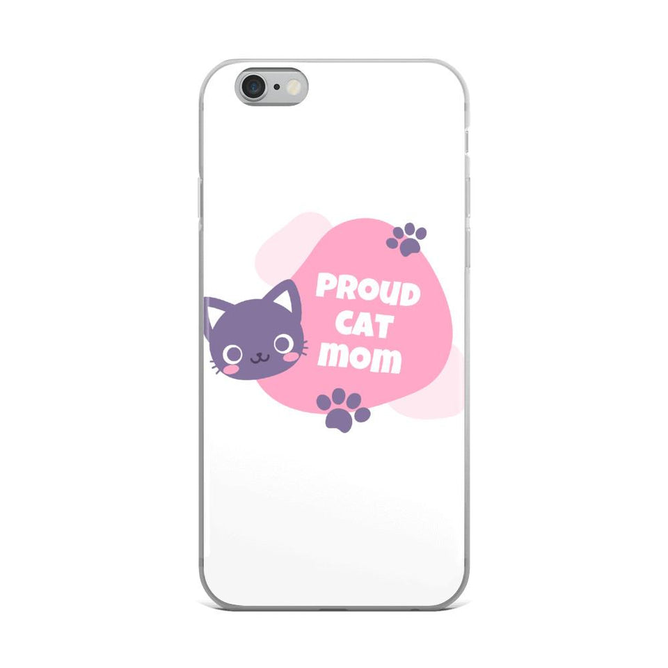 iPhone 6 Plus/6s Plus Cat Mom iPhone Case