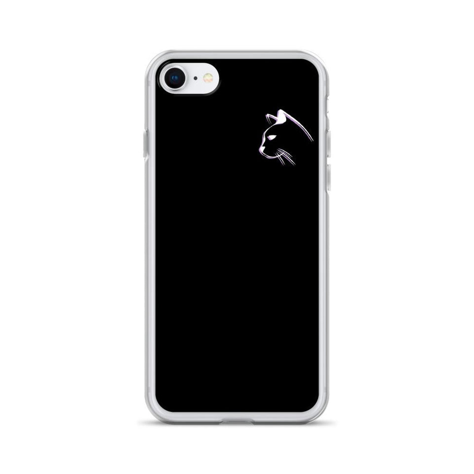iPhone 7/8 Stenciled Kitten iPhone Case