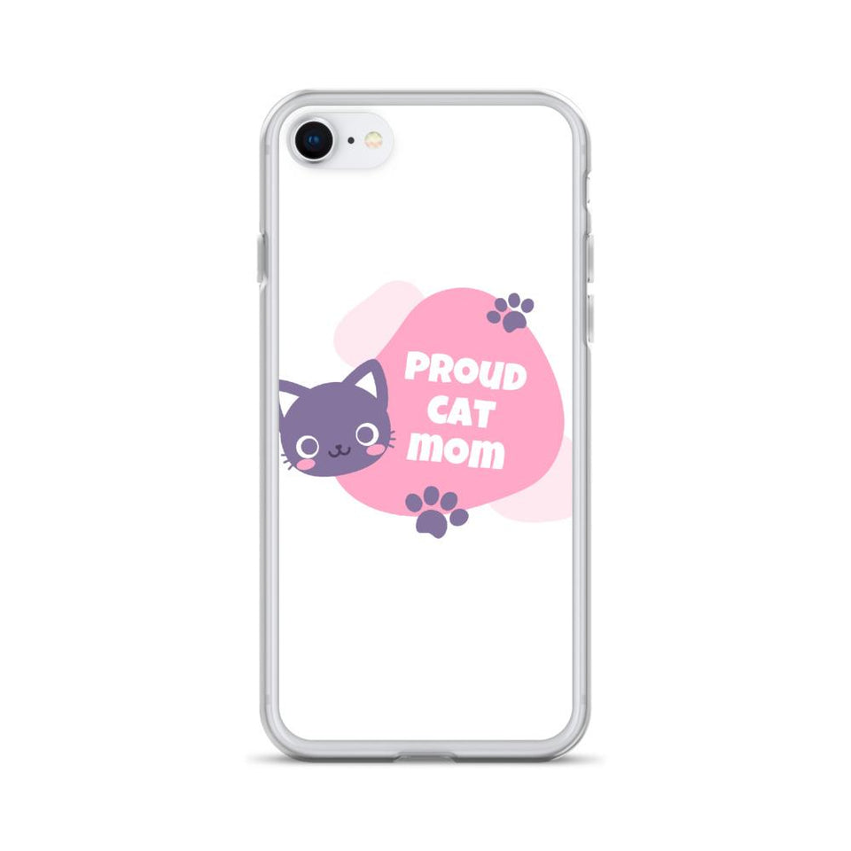 iPhone SE Cat Mom iPhone Case