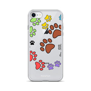 iPhone SE Paw Print iPhone Case