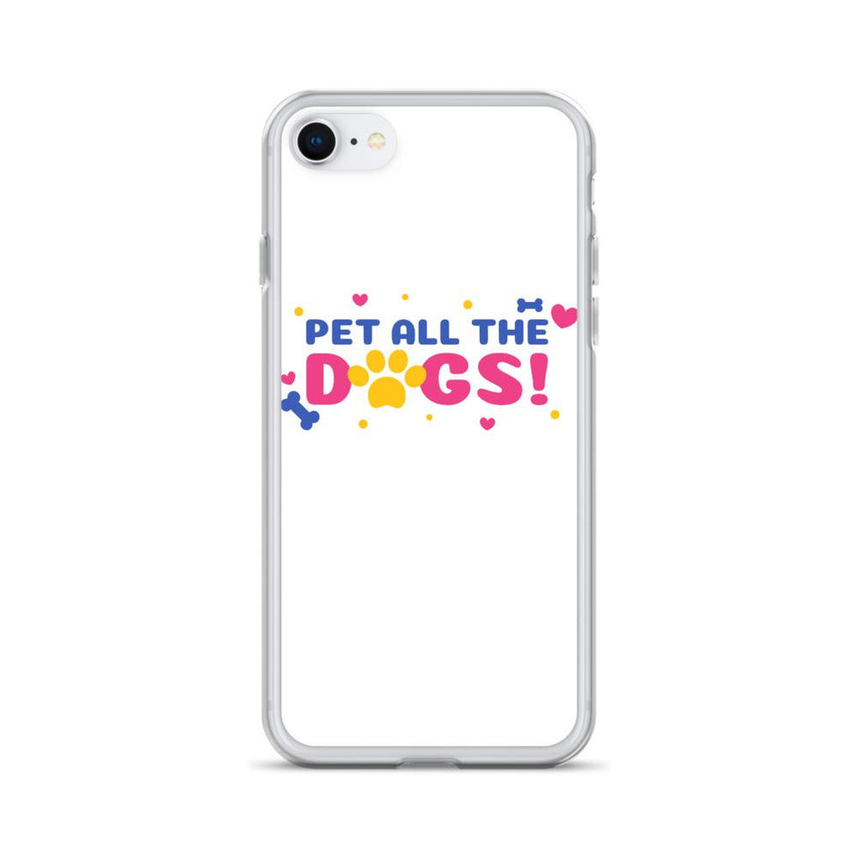 iPhone SE Pet All Dogs iPhone Case