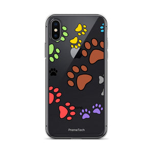iPhone X/XS Paw Print iPhone Case