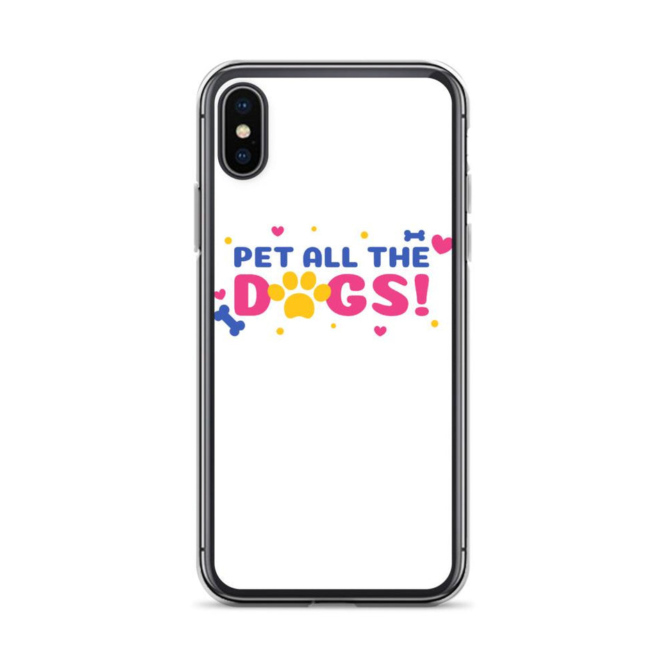 iPhone X/XS Pet All Dogs iPhone Case