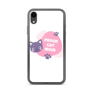 iPhone XR Cat Mom iPhone Case