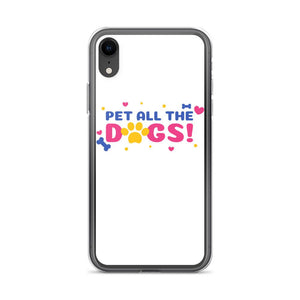 iPhone XR Pet All Dogs iPhone Case