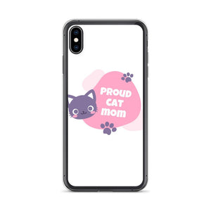 iPhone XS Max Cat Mom iPhone Case