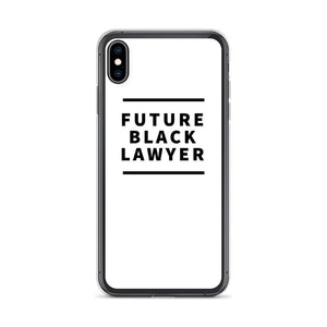 iPhone XS Max Lawyer iPhone Case