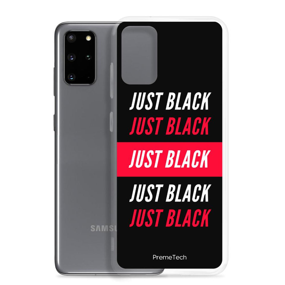 Just Black Samsung Case