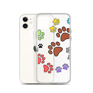 Paw Print iPhone Case