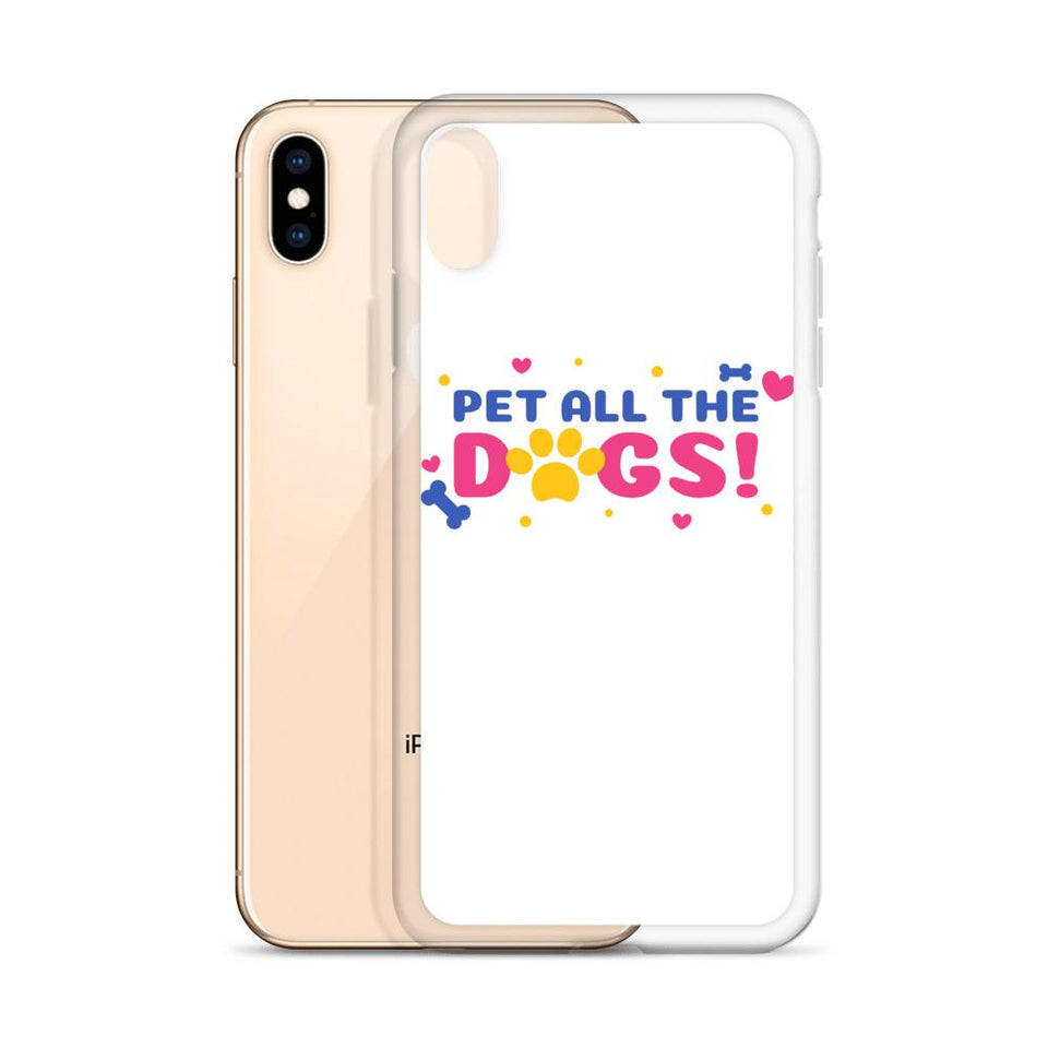 Pet All Dogs iPhone Case