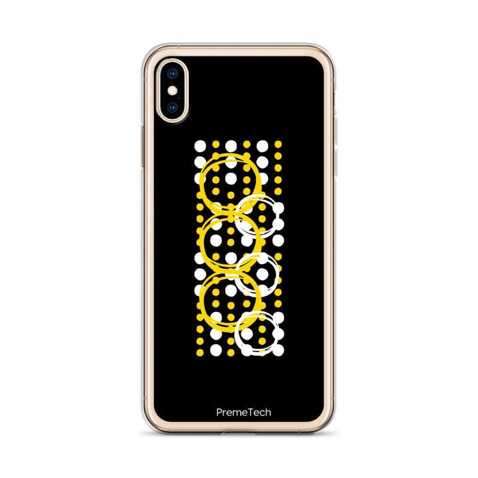 PremeTech Circle Symmetry iPhone Case