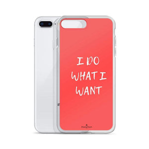 PremeTech Do What You Want iPhone Case