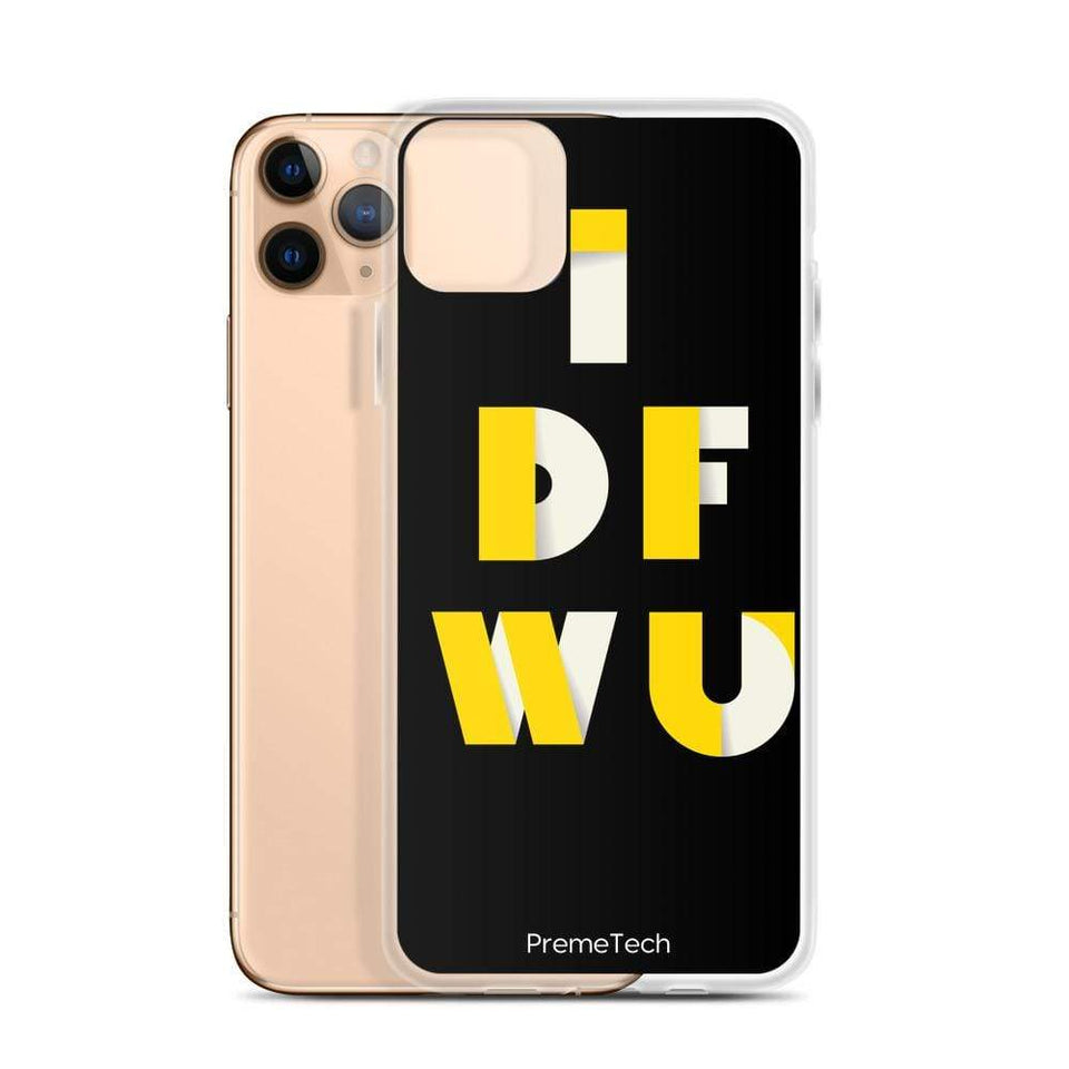 PremeTech IDFWU iPhone Case