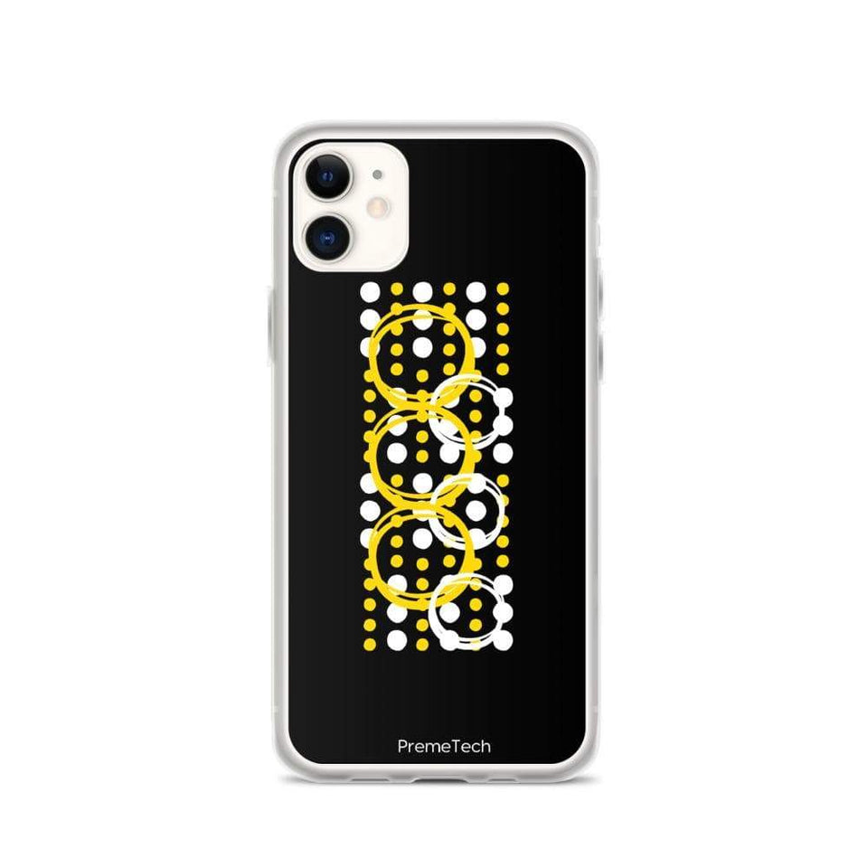 PremeTech iPhone 11 Circle Symmetry iPhone Case