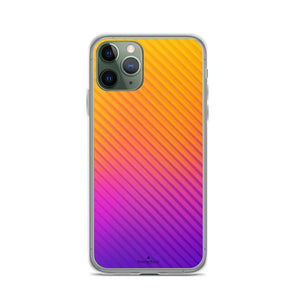 PremeTech iPhone 11 Pro Abstract Orange to Purple iPhone Case