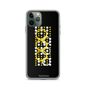 PremeTech iPhone 11 Pro Circle Symmetry iPhone Case