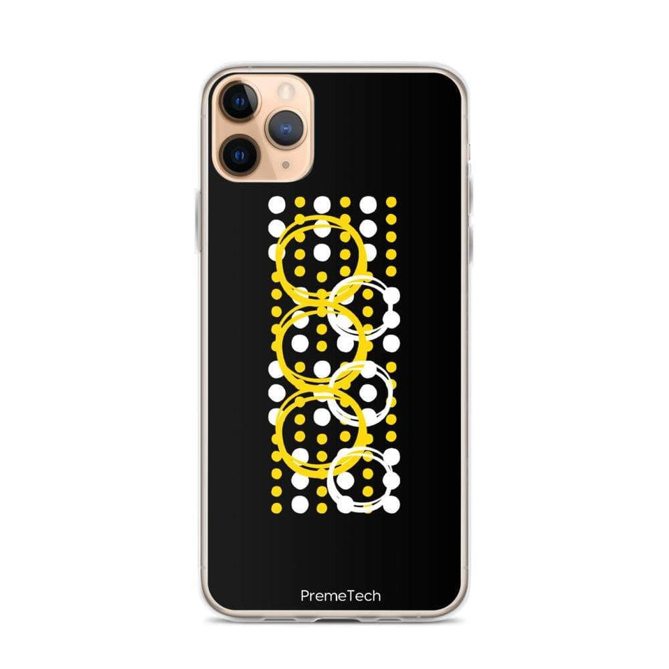 PremeTech iPhone 11 Pro Max Circle Symmetry iPhone Case