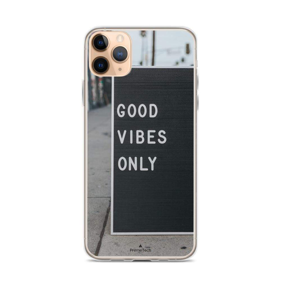 PremeTech iPhone 11 Pro Max Good Vibes iPhone Case