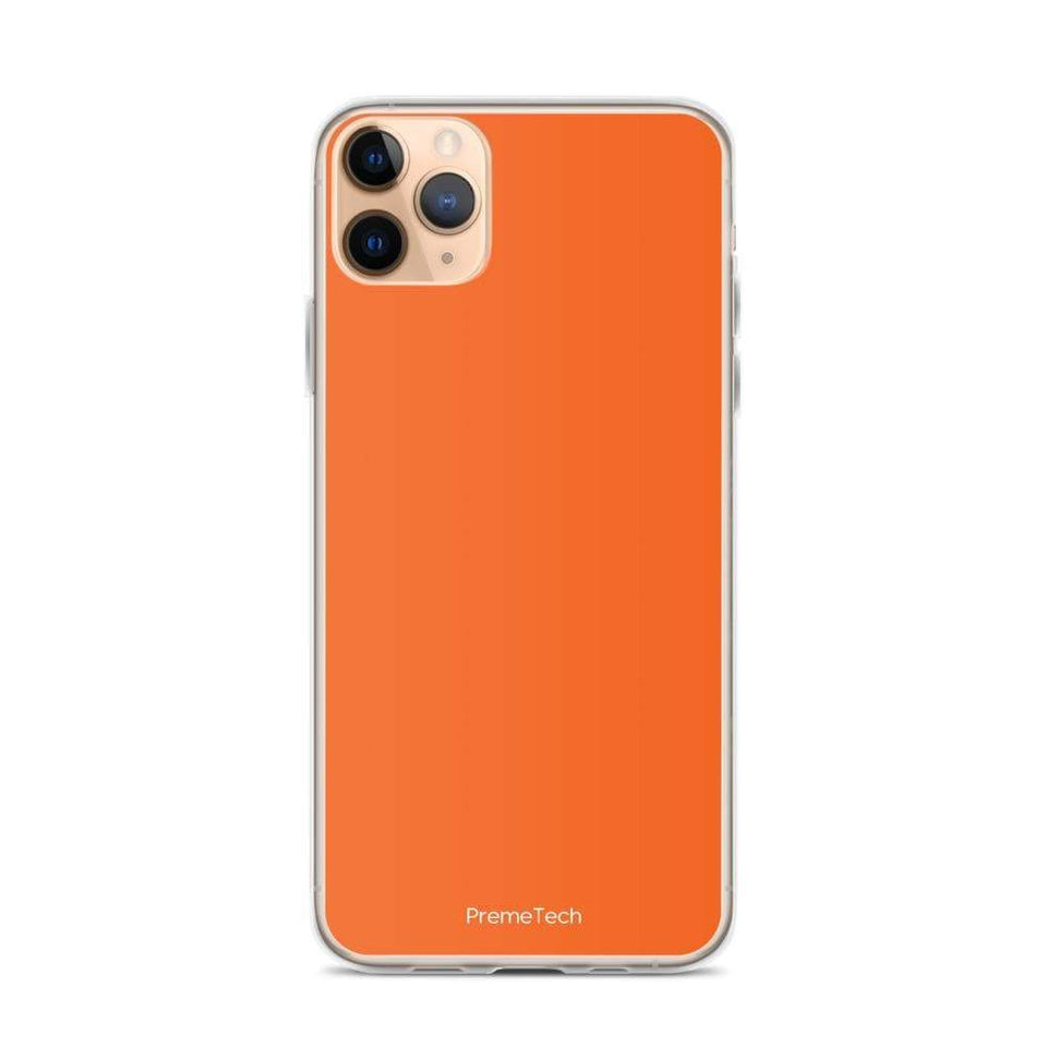 PremeTech iPhone 11 Pro Max Orange iPhone Case