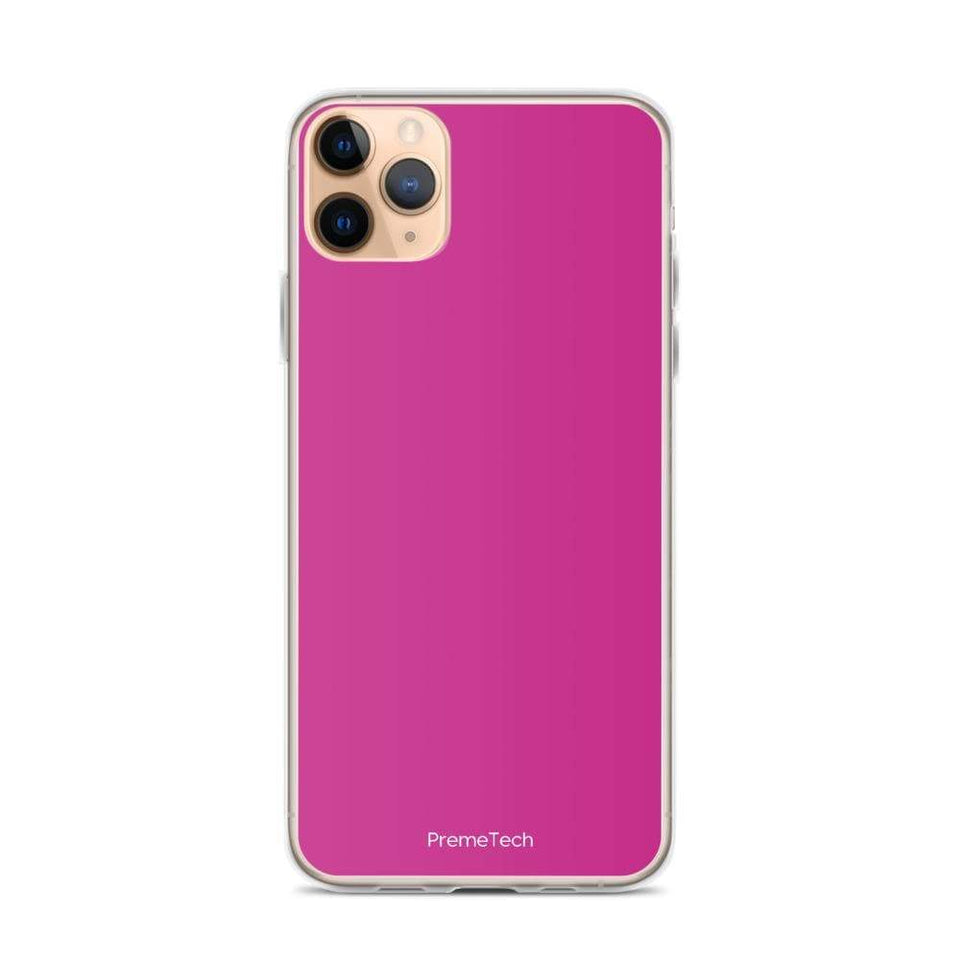 PremeTech iPhone 11 Pro Max Pink iPhone Case