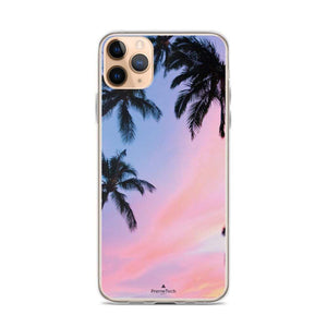 PremeTech iPhone 11 Pro Max Sunset & Palm Trees iPhone Case