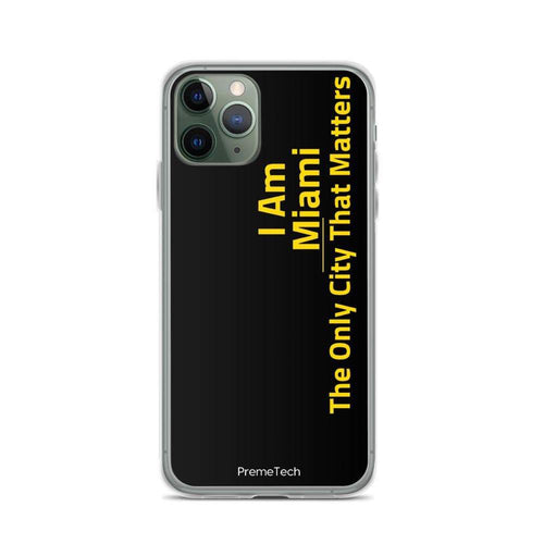 PremeTech iPhone 11 Pro Miami iPhone Case