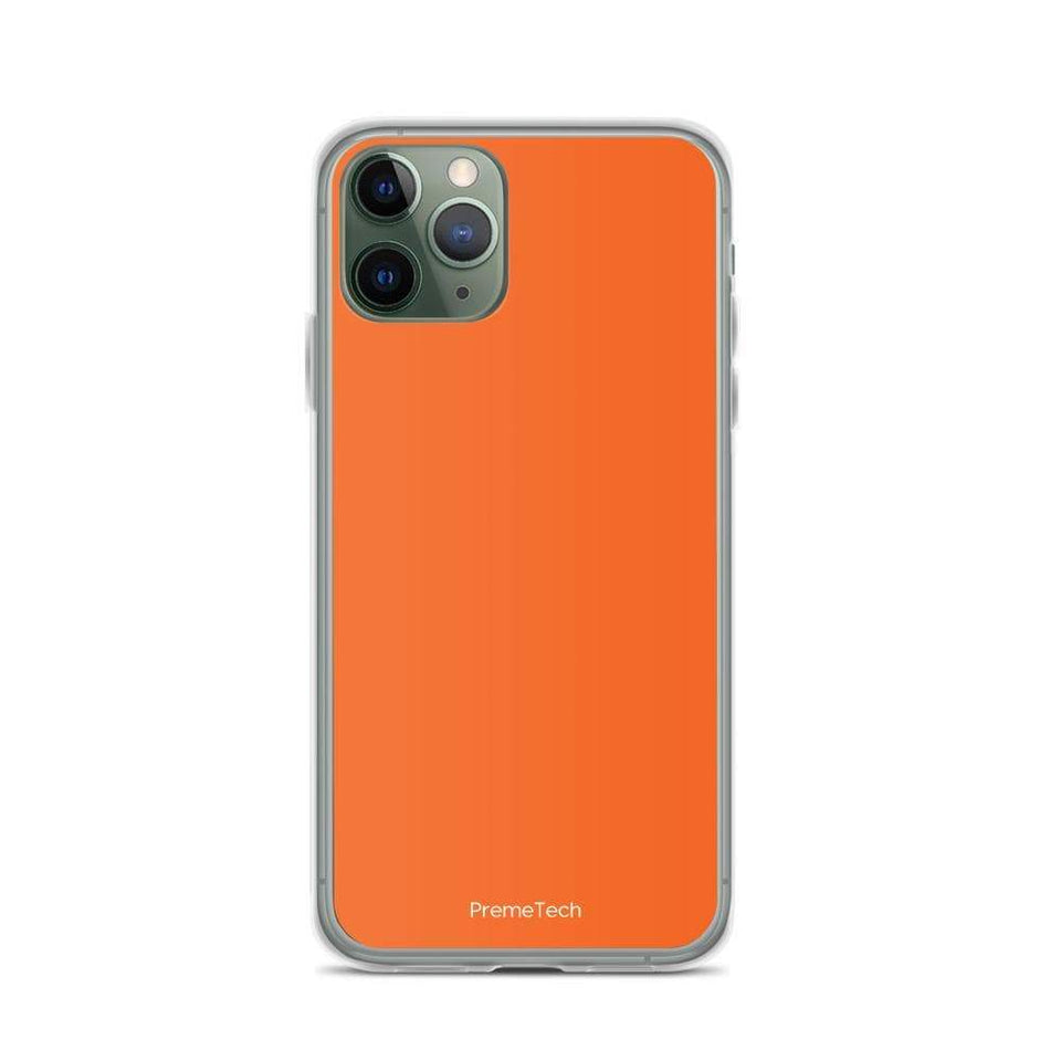 PremeTech iPhone 11 Pro Orange iPhone Case